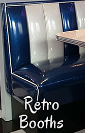 1950s Furniture Diner Booths Chairs Stools