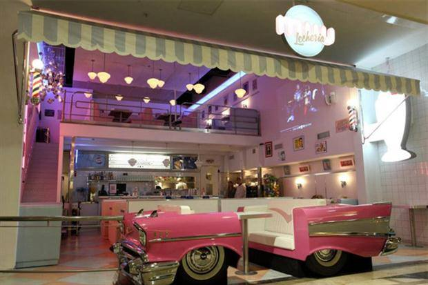 Retro Automotive Diner Bars Car Booths Car Seating