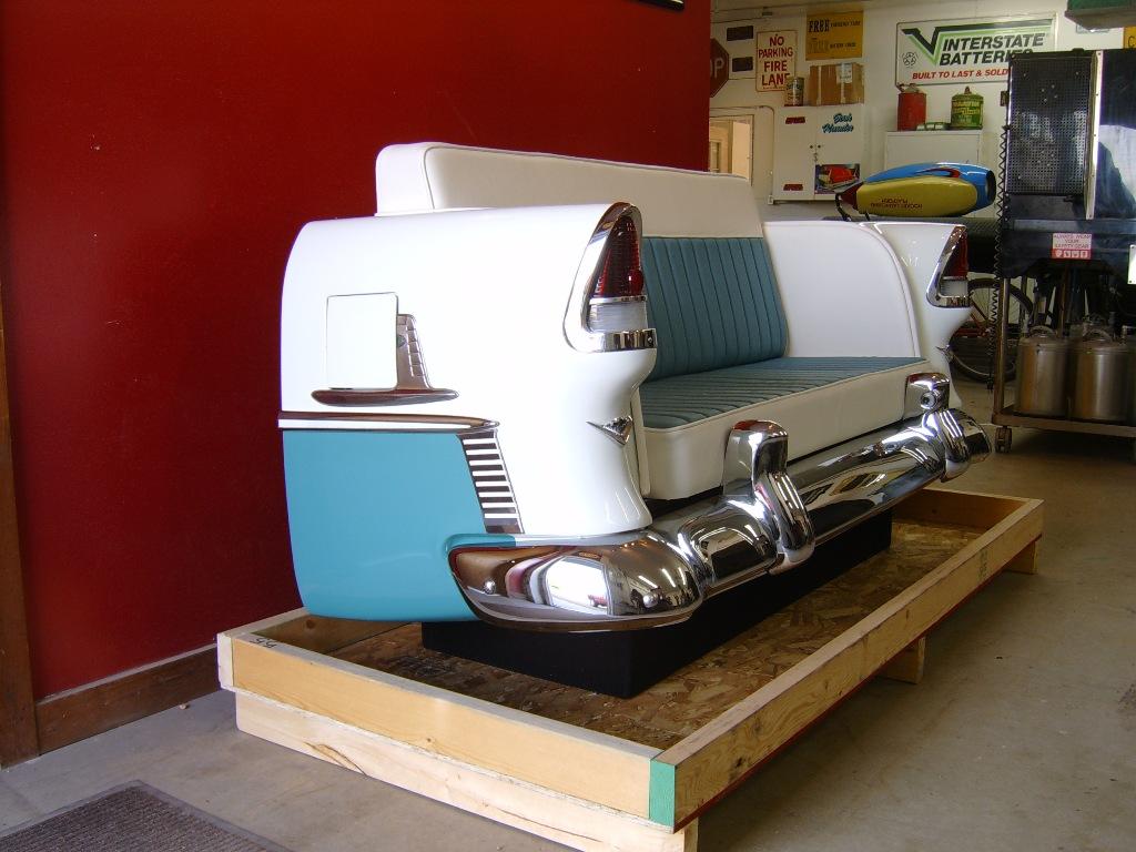 Retro Automotive Car Couches Car Chairs Car Desks