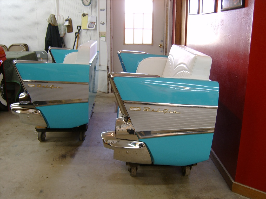 Retro Automotive | Car Couches | Car Chairs | Car Desks ...
