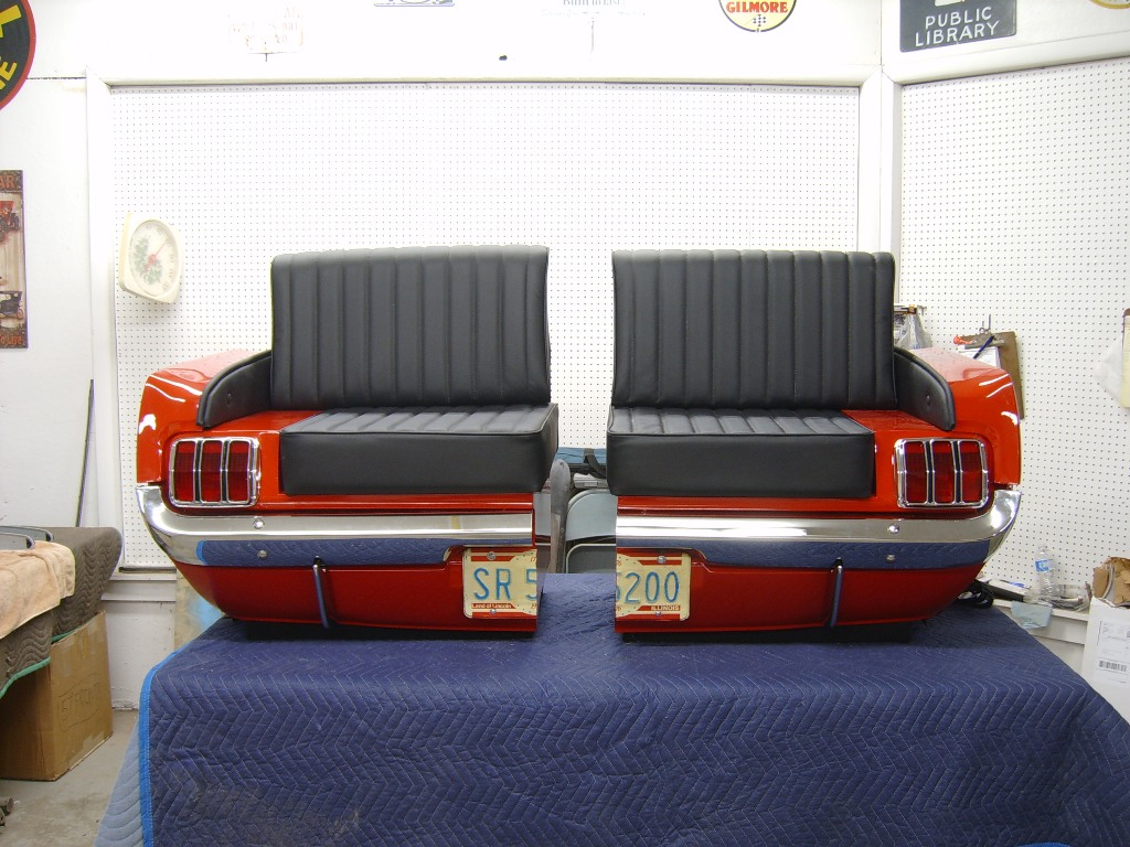 Retro Automotive Car Couches Car Chairs Car Desks