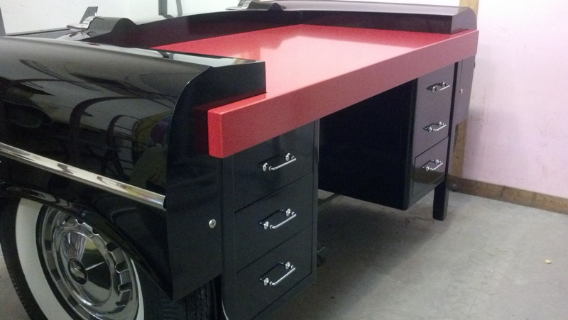 Classic Car Desks 1950s Car Furniture Retro