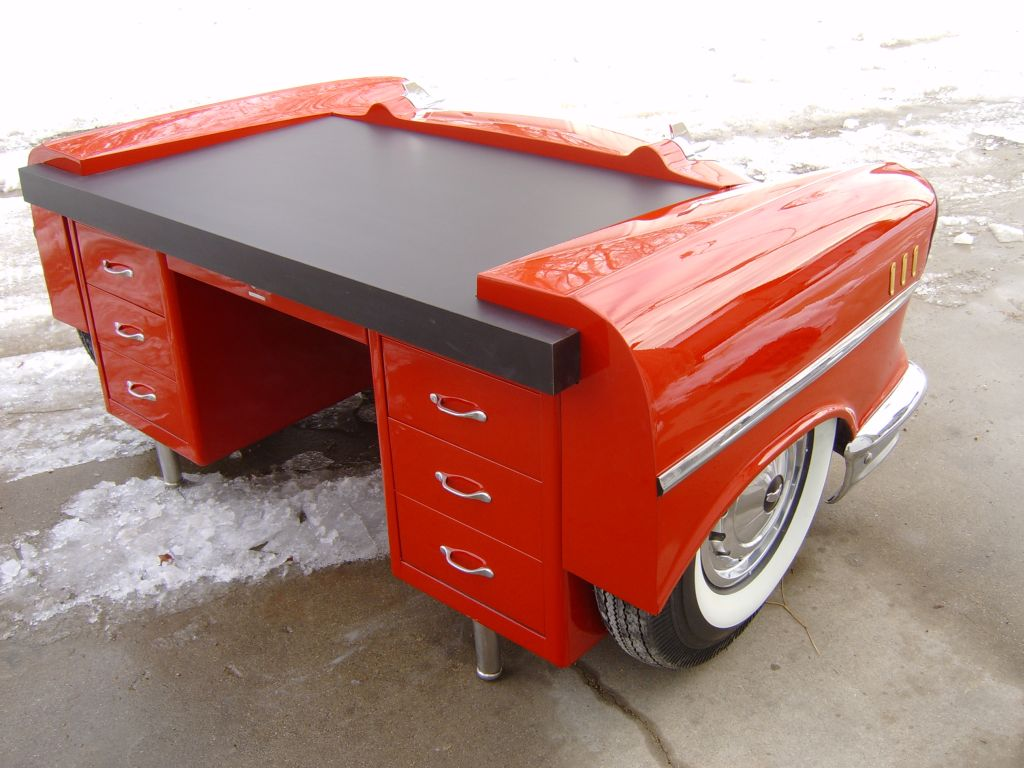 Classic Car Desks | 1950s Car Furniture | Retro