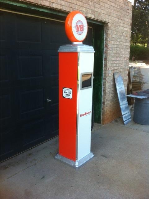 Retro Gas Pumps Vintage Gas Pumps Custom Gas Pumps